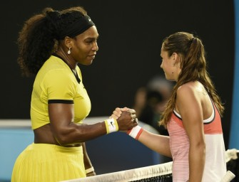 Melbourne: Williams schlägt Kasatkina