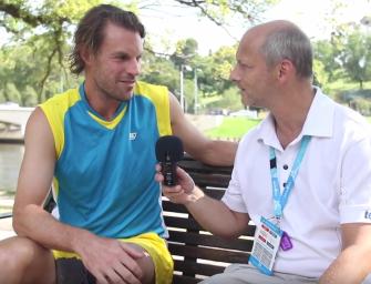 Australian Open-Videoblog: Frank Moser im Interview