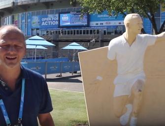 Australian Open-Videoblog: Auf den Spuren von Rod Laver