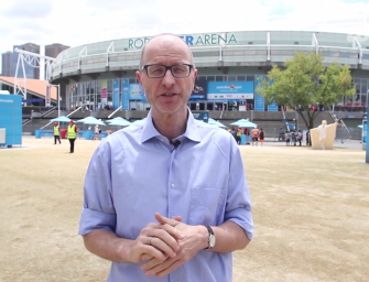 Videoblog: Matthias Stach über Kerbers Halbfinaleinzug