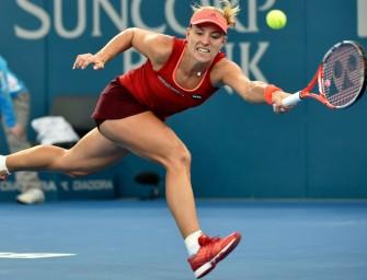 Kerber in Brisbane im Halbfinale, Aus für Petkovic