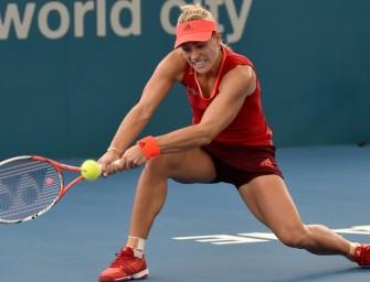 Brisbane: Kerber startet mit Sieg gegen Giorgi