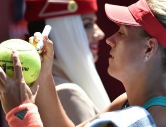 Melbourne: Kerber gerüstet für Viertelfinale gegen Azarenka