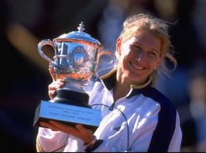Steffi Graf war die letzte Deutsche vor Angelique Kerber, die einen Major-Titel gewann.