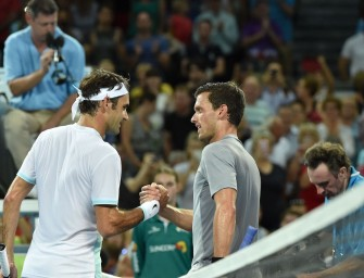 Video: Kamke gegen Federer ohne Chance