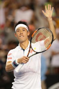 Kann er Djokovic stoppen? Kei Nishikori