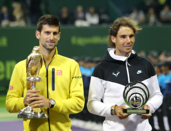 Im Video: Wie Djokovic in Doha Nadal vernascht
