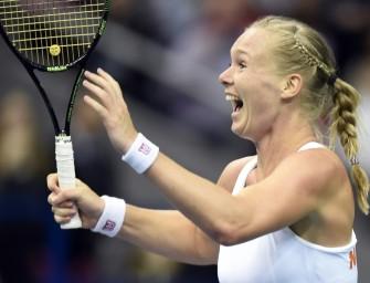 3:0 in Russland: Niederländisches Fed Cup-Team überraschend im Halbfinale