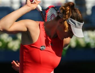 Oberschenkel-Blessur: Petkovic gibt im Halbfinale von Doha auf