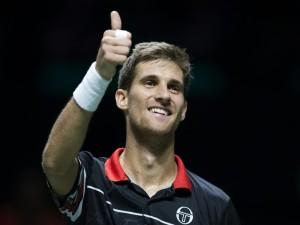 Martin Klizan feiert seinen vierten ATP-Titel