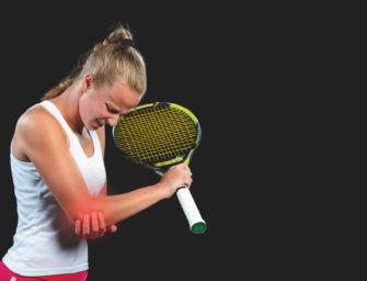 Problem Tennisarm: So schlagen Sie wieder schmerzfrei zu