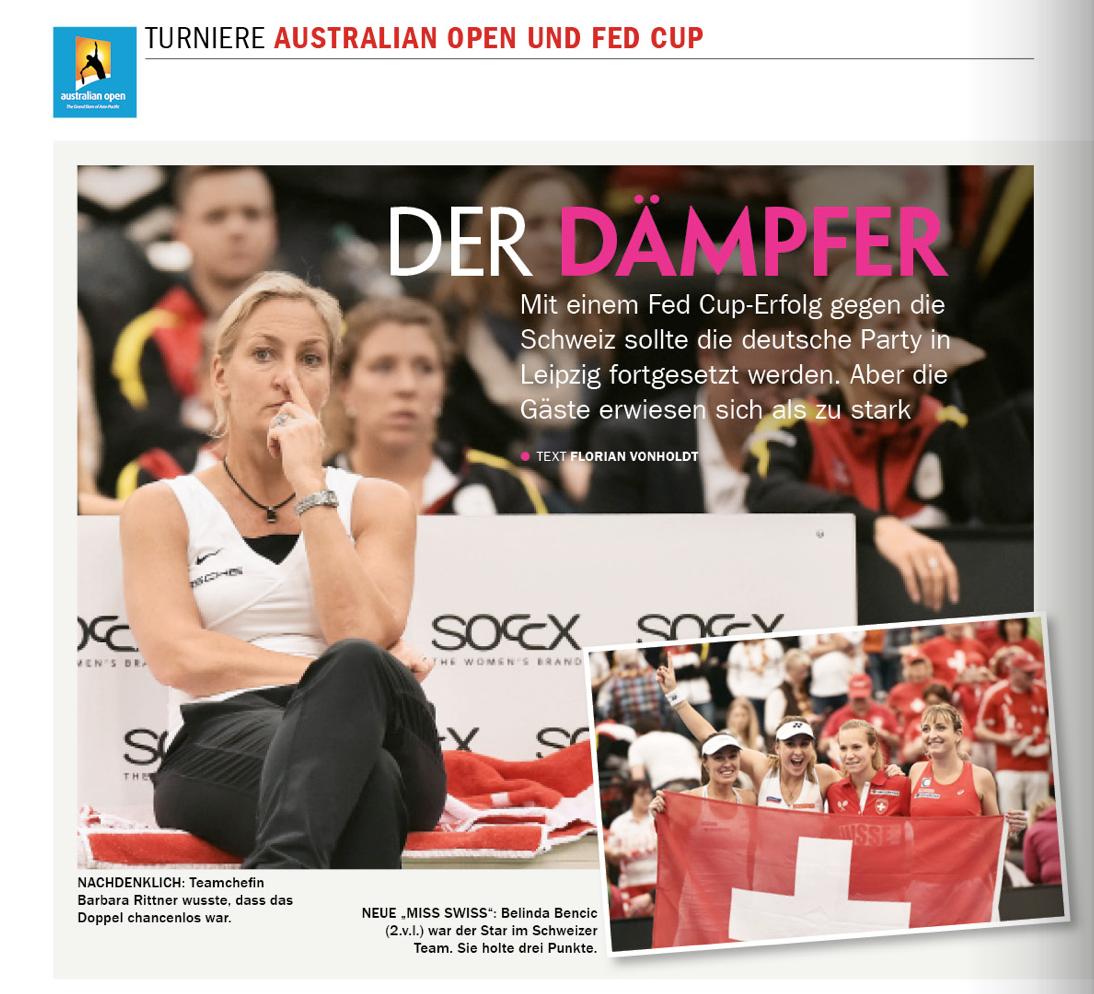 """""""Der Dämpfer"""" für Kerber und das DTB-Team im Fed Cup"""