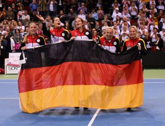 Deutschland vs. Schweiz: Fed Cup live in SAT.1!