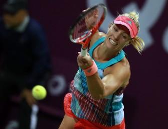 Tennis-Weltrangliste: Kerbers Vorsprung schmilzt