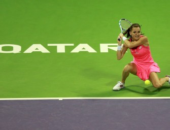 Agnieszka Radwanskas Hot Shots von Doha