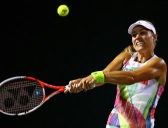 Im Video: Kerber kämpft sich ins Viertelfinale von Miami