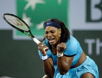 Serena Williams in Indian Wells im Finale