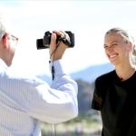 Petra Kvitova während eines Interviews.