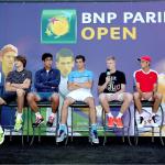 Die jungen Spieler: Alexander Zverev (zweiter von links) und Co.