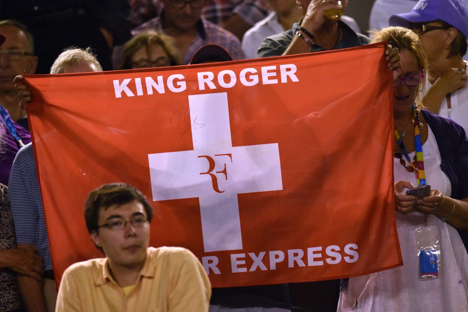 Der Manager von Federer