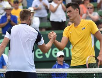 Davis Cup: Tomic gleicht bei Hewitts Teamchef-Debüt aus
