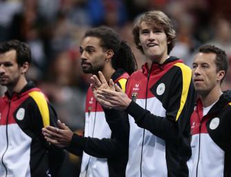 Davis Cup: Deutschland gegen Polen in Berlin
