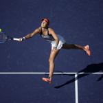Lucie Hradecka in ihrem Match gegen Alison Riske.