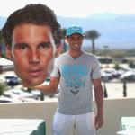 Auch Nadal nimmt an dem Spiel teil.
