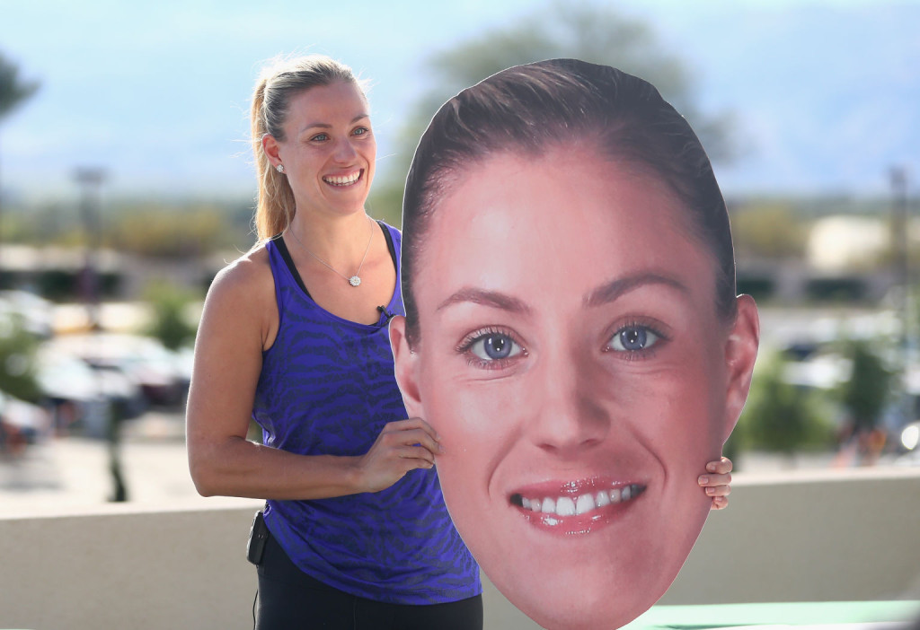 Die doppelte Kerber in Indian Wells