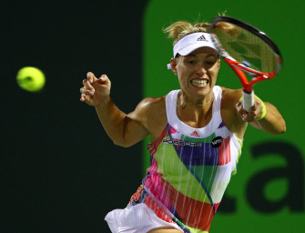 Highlights im Video: Kerber stürmt ins Halbfinale