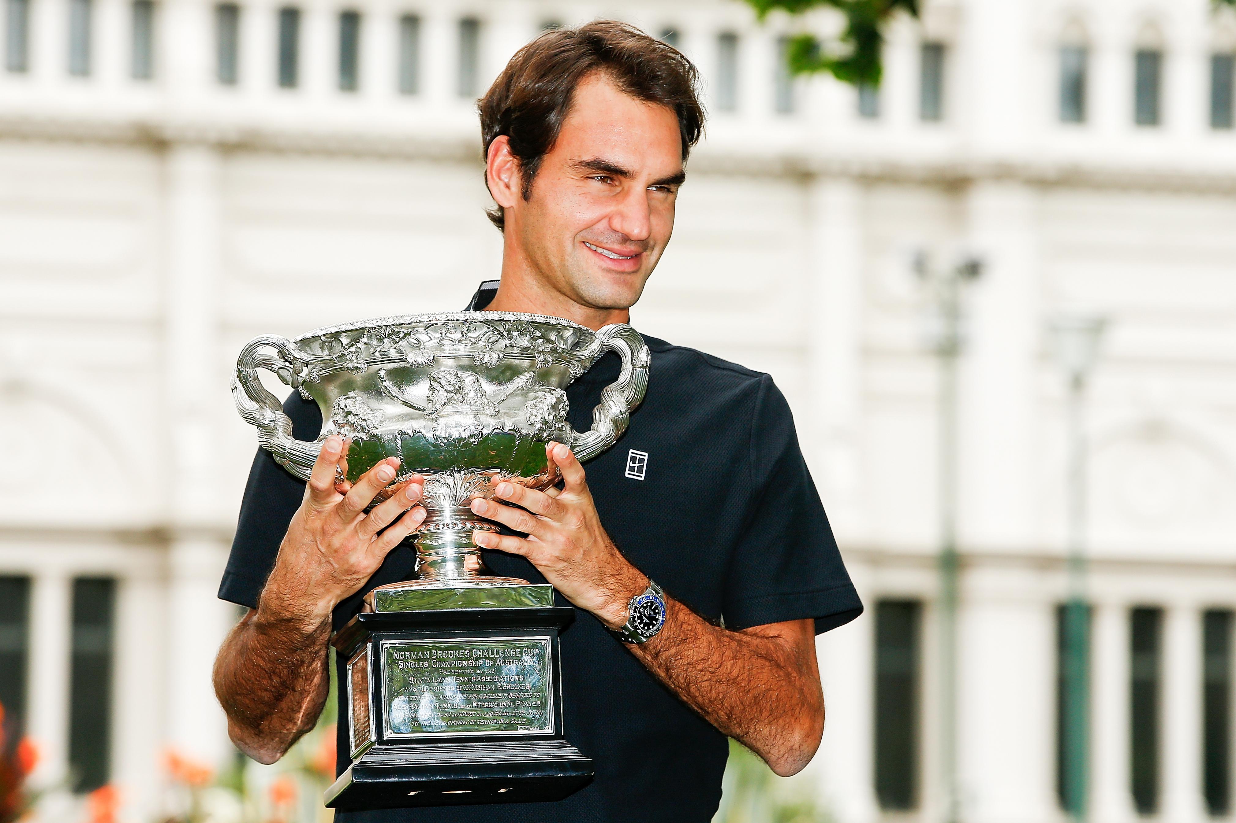 Manager von Roger Federer
