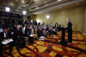 Der Gang vor die Presse fiel Maria Sharapova sichtlich schwer
