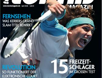 tennis MAGAZIN 4/2016 – Auf den Spuren von Alexander Zverev