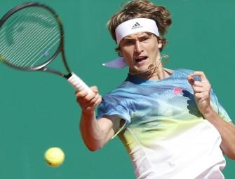 Monte Carlo: Zverev meistert Auftakthürde