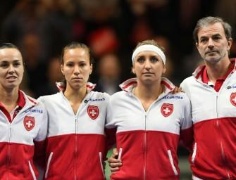 Deutschland-Bezwinger Schweiz verpasst Fed-Cup-Finale