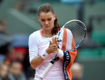 """Radwanska kritisiert Regen-Match: """"Das kann nicht sein"""""""