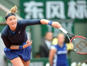 French Open: Kvitova entgeht nur knapp einer Auftaktpleite