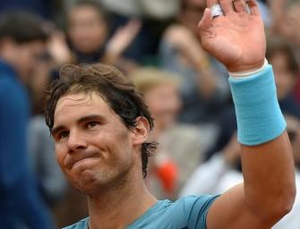 Paris: Nadal zieht wegen Handgelenkverletzung zurück