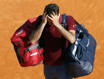 Madrid-Start geplatzt: Federer plagen Rückenprobleme