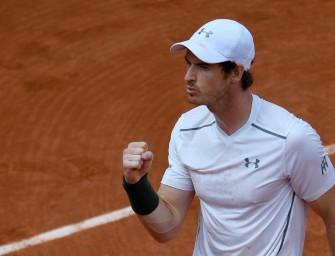 Andy Murray gut erholt ins Achtelfinale von Paris