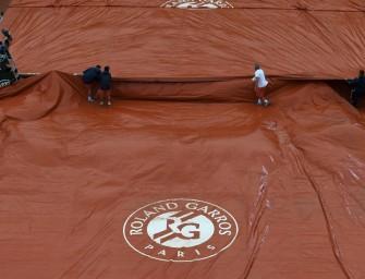 Regen in Paris: Keine Matches am Montag