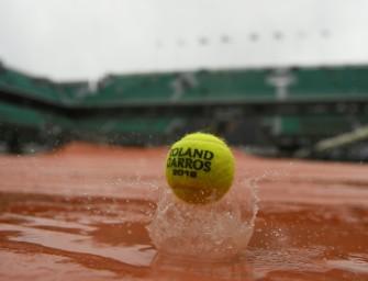 Regenspiele von Paris: Wieder Unterbrechung bei French Open