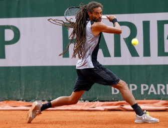 French Open: Brown gegen Sock chancenlos