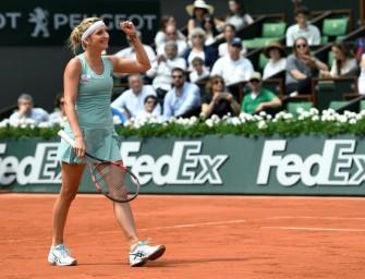 French Open: Bacsinszky weiter – Ivanovic ausgeschieden