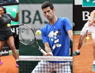 French Open-Livescore an Tag 3: mit Zverev, Djokovic & Serena
