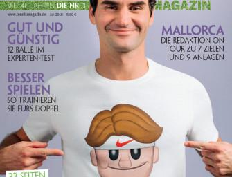 tennis MAGAZIN 7/2016 – 33 Seiten Wimbledon-Vorschau