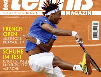 tennis MAGAZIN 6/2016 – GAEL! Tricks von Monfils