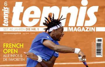 tennis MAGAZIN 6/2016 – GAEL! Tricks von Monfils