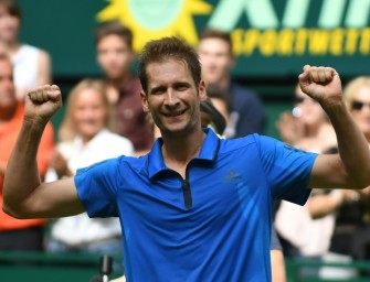 Sensation! Florian Mayer triumphiert in Halle!