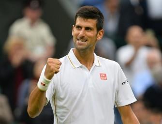 Wimbledon: Djokovic ohne Satzverlust in Runde drei